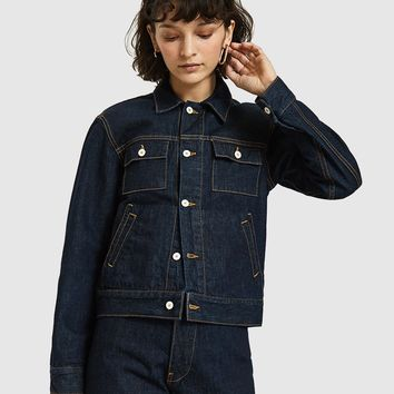 Jesse Kamm / The Ranch Jacket in Dark Denim