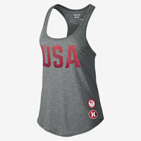 The Hurley Dri-FIT Team Racer (USA) Women's Tank Top.