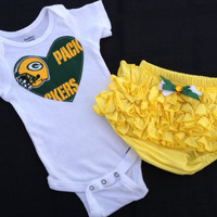 Green Bay Packers Gift Set by BebeSucreOnline on Etsy