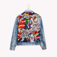 RWDZ x Marvel Breaking Through x Levis Jacket