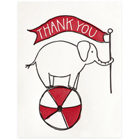 Elephant Thank You Boxed Cards