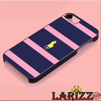 "Polo Ralph Lauren Navy Blue Stripe for iphone 4/4s/5/5s/5c/6/6+, Samsung S3/S4/S5/S6, iPad 2/3/4/Air/Mini, iPod 4/5, Samsung Note 3/4 Case ""002"""