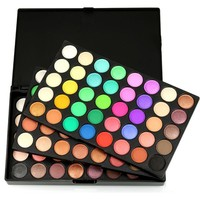 120 Colors Professional Portable Eyeshadow Palette Makeup Set Neutral Shimmer Matte Cosmetics Eye Shadow Beauty CL6