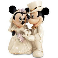 Disney's Minnie's Dream Wedding Figurine by Lenox