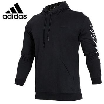 Original New Arrival 2018 Adidas NEO Label M CS HDY DT PRT Men's Pullover Hoodies Sportswear
