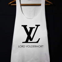 Harry Potter Shirt Lord Voldermort Loose Fit Tank Top Women populer tanktop for mens and women made by USA