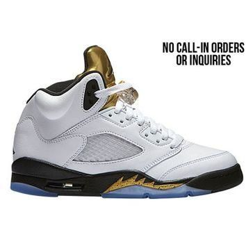 Jordan Retro 5 - Boys' Grade School at Champs Sports
