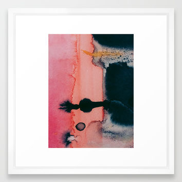 Intuitive Framed Art Print by duckyb