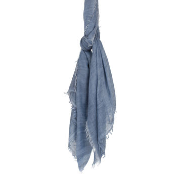 Lanvin Cotton and cashmere scarf