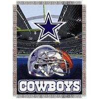 Dallas Cowboys Acrylic Tapestry Throw Blanket