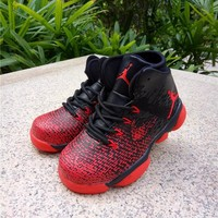 Best Deal Online Nike Air Jordan 31 XXXI Black Red Kid Basketball Shoes for Youth Boys and Child