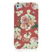 Retro Villatic Style Garden Frosted iPhone 4 / 4S Case