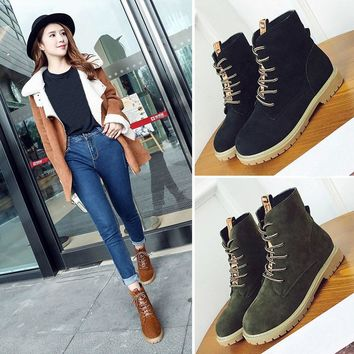 Women's Autumn Fashion Ankle Tim Boots