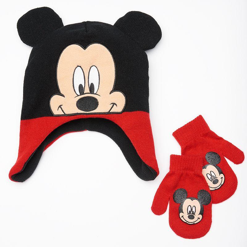 2830020872fe5 Disney s Mickey Mouse Hat   Mittens Set - from Kohl s