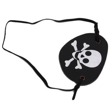 Villain Joke Party Masks Halloween props Mask Bandanna kerchief Pirate of the Caribbean Captain hat eye patch Pirate Hook Scar
