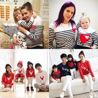 Christmas t-shirt mother mommy and me daughter father son kids baby clothes matching family outfits clothing family look