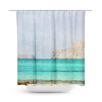 At Sea 4 Shower Curtain
