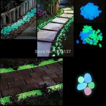 Glow Rocks- Glowing in the Dark  Pebble Stone