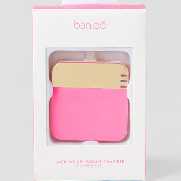 Back Me Up Mobile Charger For IPhone 5