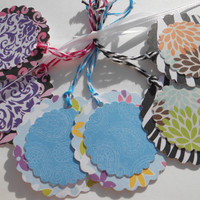 Multi Use - ADHESIVE - Variety 6 Pack - Gift Tags, Labels, Party Favors, Baby Shower Favors, Scrapbook Sticker, Wedding Favors, ETC.