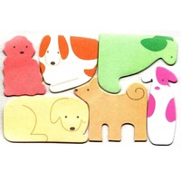Puppy Dog Shaped Animal Themed Memo Pad Post-it Index Tab Sticky Notes