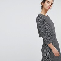Miss Selfridge Checked Dress at asos.com