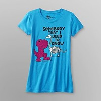 Hybrid- -Junior's Graphic T-Shirt - Dinosaur-Clothing-Juniors-Graphic Tees
