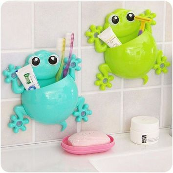 ESBON5 Super Deal 2015 Toothbrush Holder Set Family Set Wall Mount Rack Bath bathroom accessories banheiro bathroom set HYM17&06