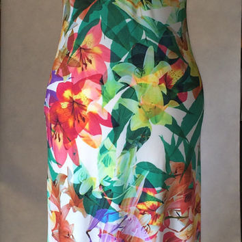 Summer dress, maxi dress, long dress, beach dress, floral dress, halter neck dress