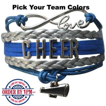 Cheer She Did Bracelet - 20 Team Colors