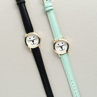 Darling Meow Watch | Black or Mint