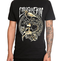 Chelsea Grin Crow Skull T-Shirt | Hot Topic
