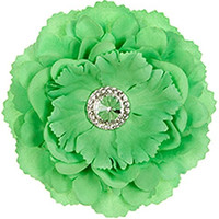 Locker Flower Magnet Green