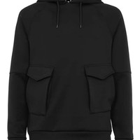 Black Bonded Overhead Hoodie - New This Week - New In