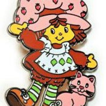 Strawberry Shortcake Retro Enamel Pin