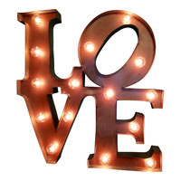 Love Marquee Letter Light Sign