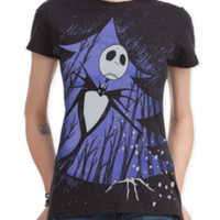 The Nightmare Before Christmas Xmas Door Girls T-Shirt