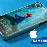 Disney Merida BRave iphone 4/4s case, iphone 5/5s/5c case, samsung s3 i 9300/s4 i 9500 case
