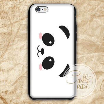 panda cute iPhone 4/4S, 5/5S, 5C Series Hard Plastic Case