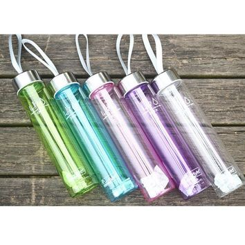 Transparent Water Bottles 280ML