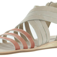 Lucky Brand Jessicah Strappy Sandals Leather Zip Gladiator