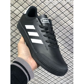 HCXX A572 Adidas Court 70s Fashion Baitao Personality Campus Board Shoes Black White