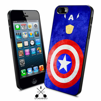 Captain America Grunge iPhone 4s iphone 5 iphone 5s iphone 6 case, Samsung s3 samsung s4 samsung s5 note 3 note 4 case, iPod 4 5 Case