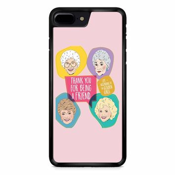 The Golden Girls Book iPhone 8 Plus Case