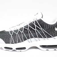 Nike Men's Air Max 95 Ultra JCRD White/Gray Running Shoes 749771 100