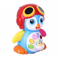 Electronic Pets Baby Toys EQ Flapping penguin Infant Funny Toys