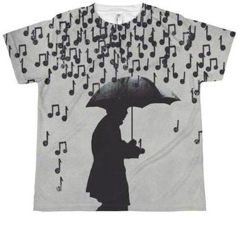 Raining Music Youth T-shirt