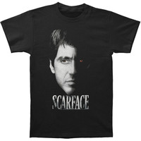 Scarface Men's  Red Eye T-shirt Black