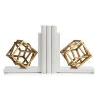 Cubed Bookends | Books & Stationery | Novelty | Decor | Z Gallerie