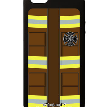 Firefighter Brown AOP iPhone 5C Grip Case All Over Print